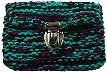 Bam Tululu Moumouss Black, Green and Pink Wallets for Women, BTMO115
