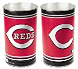 Cincinnati Reds 15 Waste Basket - Licensed MLB Baseball Merchandise