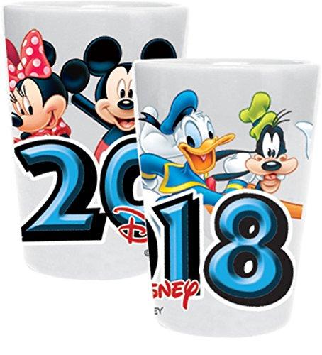 Disney 2018 Fun Faces Minnie Mickey Goofy Donald Ceramic Col