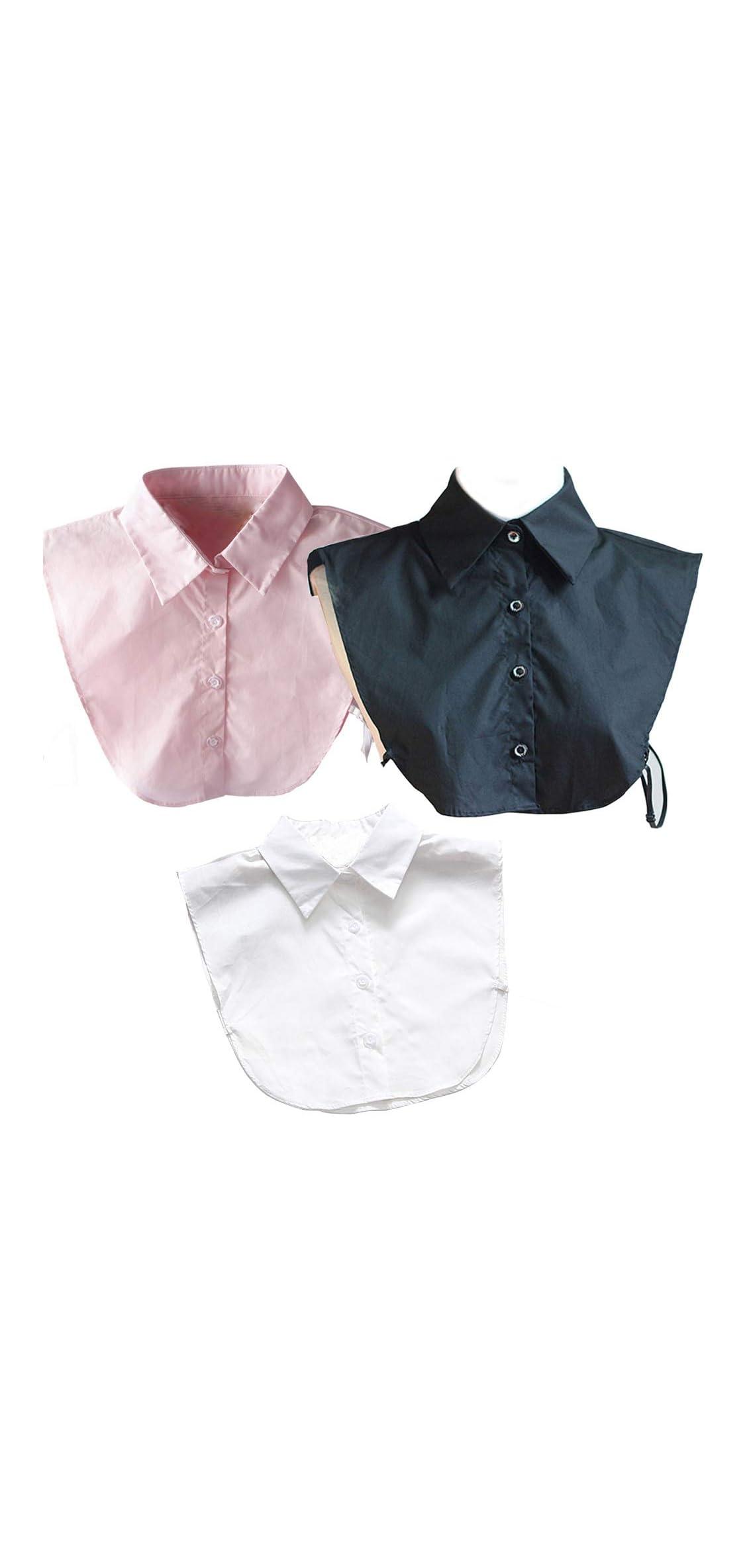 Shirt Collar, Detachable Blouse Fake False Faux Collars