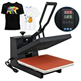 Super Deal 15'' X 15'' Digital Heat Press Clamshell Transfer Machine for T-Shirt