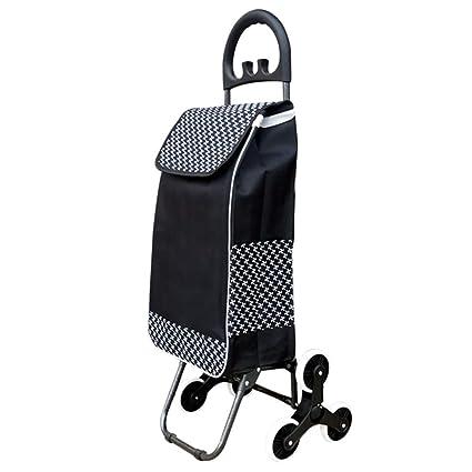 WUFENG-carrito compra Multifuncional Portátil Plegable con Silla Casa, 3 Colores 2 Tallas (