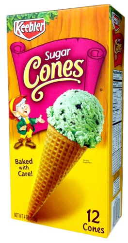 Keebler Ice Cream Cones Food Service