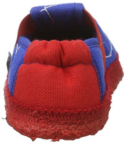 Nanga Spinne - Zapatillas de casa Niños Azul (Mittelblau)
