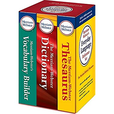 Merriam-Webster's Everyday Language Reference Set, New Edition (c) 2016