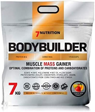 7 NUTRITION Bodybuilder - 7000 g - Vanilla Ice