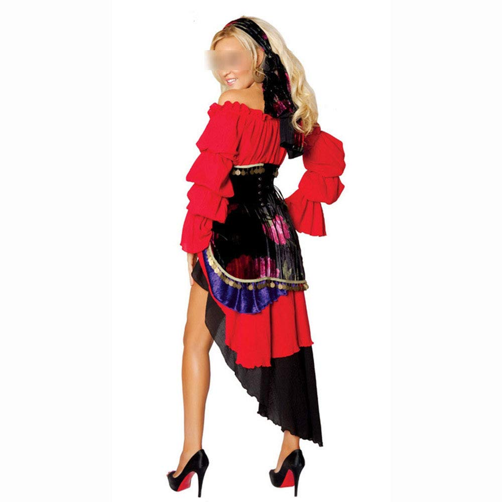 HaoLiao Vestido de Danza del Vientre, Estilo Latino Danza ...