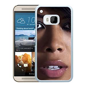 Beautiful Designed Cover Case With Kelis Face Makeup Lips Jewerly (2) For HTC ONE M9 Phone Case