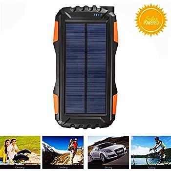 Amazon.com: Gootu - Cargador solar, portátil de 25000 mAh ...