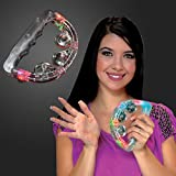 Light Up Toy Tambourines (Set of 12)