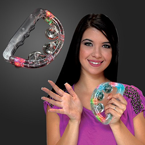 Light Up Toy Tambourines (Set of 12) by FlashingBlinkyLights