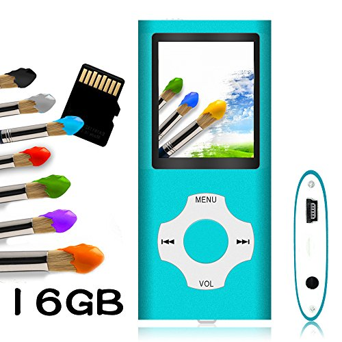 Tomameri - MP3 / MP4 Player with Rhombic Button, Portable Mu