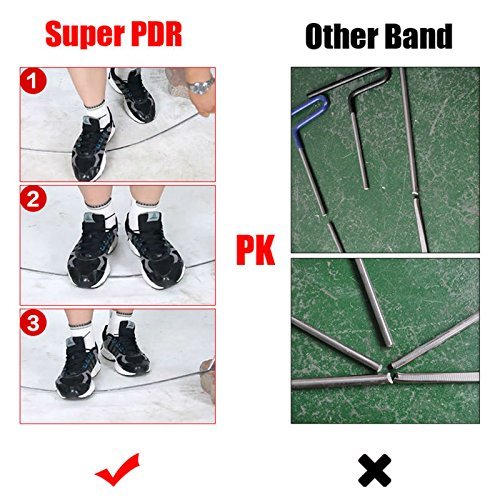 TOOGOO Tool 1 Piece Blue Silver Bar Hook Car Crowbar Car Body Dent Repair Tool No Lacquer Pit Dent Repair Car Tool