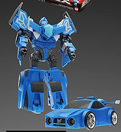 Amazon.com: Mini Force BOLTBOT Transforming Robot Toy: Toys ...
