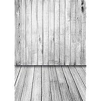 Daniu Photo Background Wooden Floor for Baby Photo Studio Vinyl Children Photography Backdrops Props 5x7FT QX001