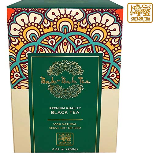 Bah-Bah - Black Ceylon Tea OPA, (250g) Loose Whole Leaf Tea ()