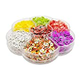 Assorted Fruit Slices 90g Fimo Wheel - Slime