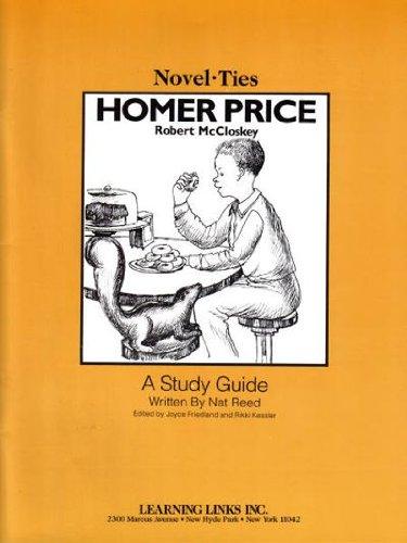 Homer Price: Novel-Ties Study Guide