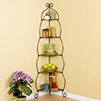 Melisse Corner Bakers Rack by Lark Manor