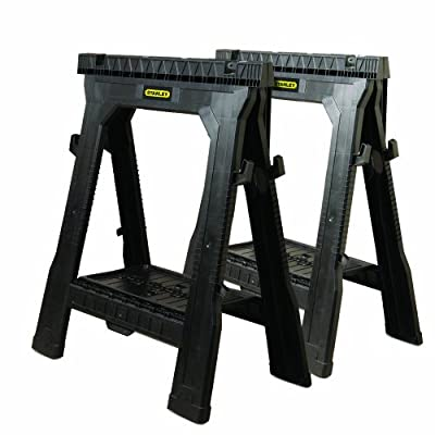 Stanley 060864R Folding Sawhorse (2-Pack)