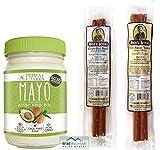 Paleo Meat and Mayo #2: Primal Kitchen Avocado Oil Paleo Mayo & Nick's Sticks Beef & Turkey