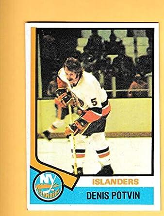 Amazon.com  1974-75 Topps  195 Denis Potvin EX NM RC Rookie New York ... af852cf7b