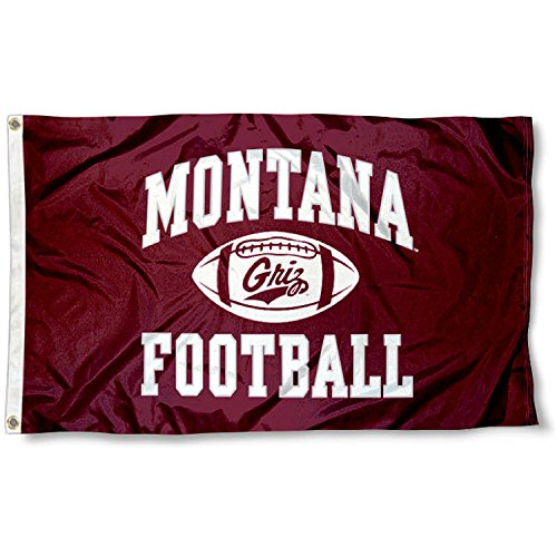 Montana Grizzlies Football Flag (Montana Football)