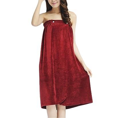 8f28d31f3645 Amazon.com: Towel Tube Dress, Pure Soft Velour Wearable Spa Shower ...
