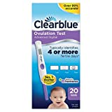 Clearblue Advanced Digital Ovulation Test--Pack of 20 Sticks