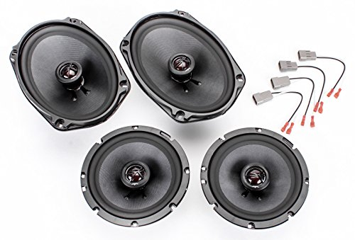 1994-1997 Honda Accord Complete Premium Factory Replacement Speaker Package by Skar Audio (Car Speakers For Honda Accord compare prices)