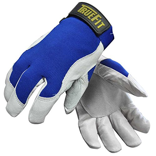 - John Tillman 1485XL X-Large Blue/Gray True Fit Top Grain Pigskin/Nylon Thinsulate Lined Cold Weather Gloves, English, 30.68 fl. oz, Plastic, 1 x 11.2 x 4.4