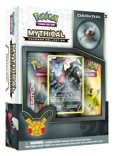 Pokémon TCG: Mythical Pokémon Collection - Darkrai (Discontinued by manufacturer)