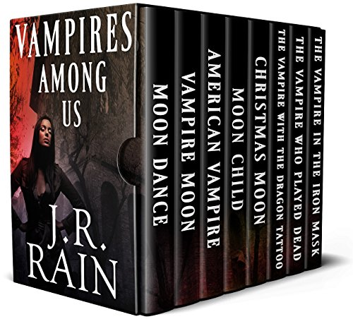 Vampires Among Us: A bundle of eight supernatural mystery thrillers, including the complete Spinoza Trilogy!