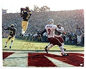 Charles Woodson Michigan Wolverines Signed Autographed 16 x 20 Photo PAAS COA