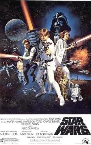 Amazon Com Star Wars Episode Iv A New Hope Style C Movie Poster Size 27x40 Prints Posters Prints