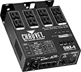 CHAUVET DJ DMX-4 Dimmer/Relay Pack | LED Light Controllers (Electronics)