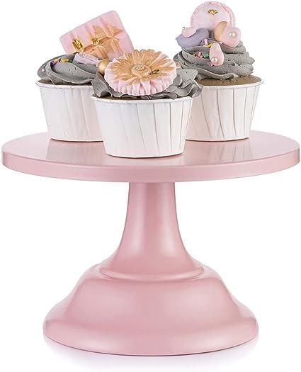 Wedding Birthday Black Medium-Sized STOBOK 1 Pc Round Wedding Iron Cake Stand Dessert Cupcake Stand Display Tray for Parties,Baby Shower