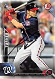 Trea Turner autographed baseball card (Washington Nationals) 2016 Topps Bowman #130 Rookie