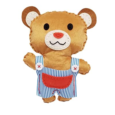 Avenir – Game Seam Plush Bear (avech1373): Toys & Games