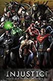 Injustice: Gods Among Us - Grid Poster 22 x 34in