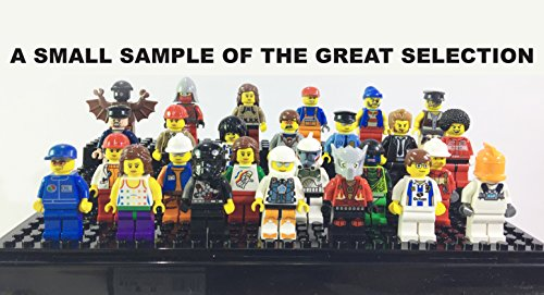 Characters Mix Six (6) MINIFIGURES Bulk Lot