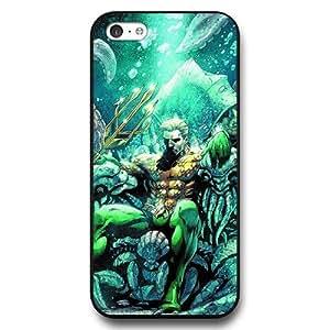UniqueBox Aquaman Superheros Custom Phone Case for iPhone 5C, DC comics Aquaman Customized iPhone 5c Case, Only Fit for Apple iPhone 5C (Black Hard Shell)