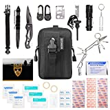 HERACLES 110 in 1 Emergency Survival Kit, First Aid Kit,...