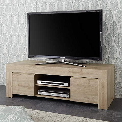 Kasalinea - Mueble para televisión (140 cm), Color Roble Claro y ...
