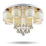 """Surpars House 6-Light Chandelier Ceiling Light,Dia 19.7"""",Height 11.8"""""""