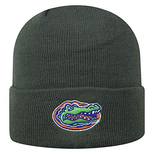 Top of the World Florida Gators Men's Winter Knit Hat Icon, Charcoal, One Fit