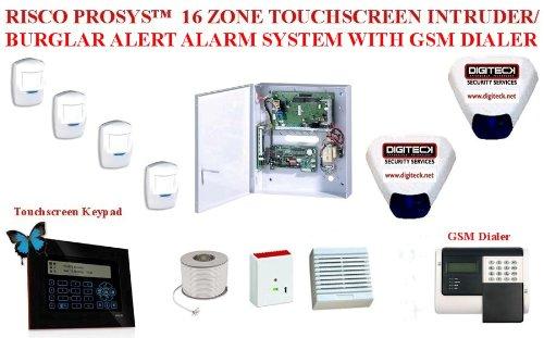 Amazon.com: ao6- Risco prosystm 16 zona visualización táctil ...