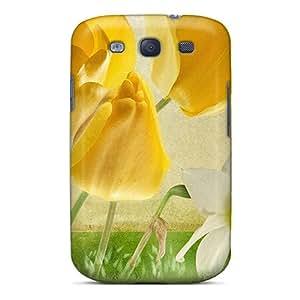 New Tpu Hard Case Premium Galaxy S3 Skin Case Cover(springs Spring)