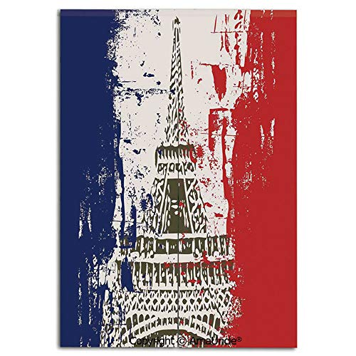 - Japanese Style Doorway Curtain,Doorway Divider for Living Room and Kitchen,Grunge Style French Flag with Eiffel Tower City of Love in Retro Colors Europe(31.5x47.2 Inches),Personalized Home Decor