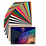 JANDJPACKAGING Heat Transfer Vinyl HTV Bundle